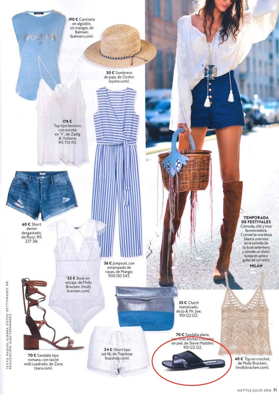 STEVE MADDEN INSTYLE CLIPPING